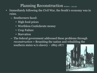 Planning Reconstruction  Section 1 – 514-519