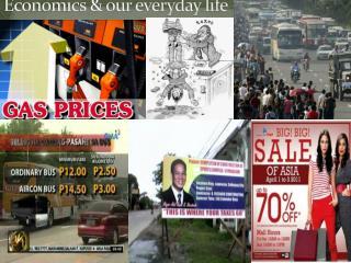 Economics & our everyday life