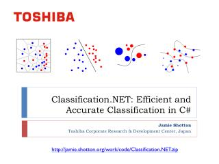 Classification.NET: Efficient and Accurate Classification in C#