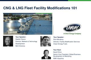 CNG & LNG Fleet Facility  Modifications  101