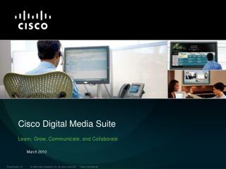 Cisco Digital Media Suite