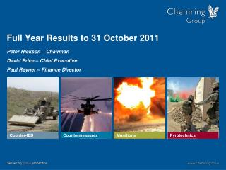 Full Year Results to 31 October 2011