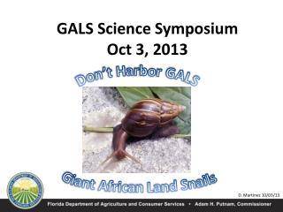 Don't Harbor GALS