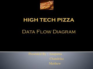 HIGH TECH PIZZA Data Flow Diagram