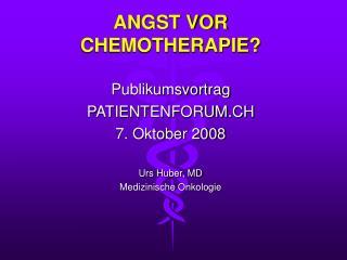 angst vor chemotherapie