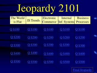 Jeopardy 2101