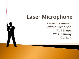 Laser Microphone