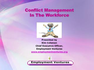 conflict management  in the workforce
