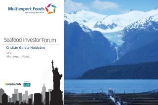 II .     Multiexport Foods Overview