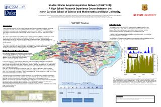 Student Water Evapotranspiration Network (SWETNET): A High School Research Experience Course between the