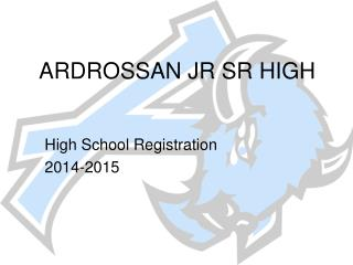 ARDROSSAN JR SR HIGH