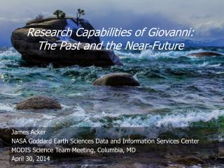 Research Capabilities of Giovanni:   The  Past and the Near-Future