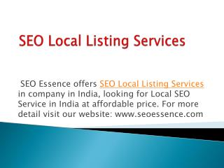 Reliable Affordable Organic SEO Service in India