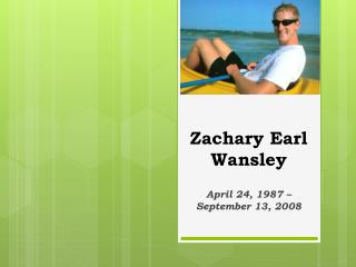 Zachary Earl Wansley