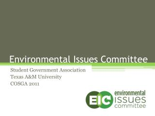 Environmental Issues Committee