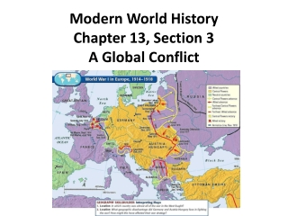 a global conflict section 3