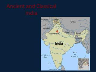 Ancient and Classical India