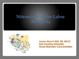 Nitrous Oxide for Labor  Analgesia