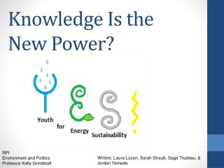 Knowledge Is the New Power?