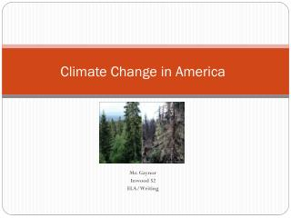 Climate Change in America