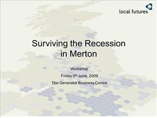 surviving the recession  in merton
