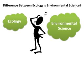 Difference Between Ecology  &  Environmental Science?