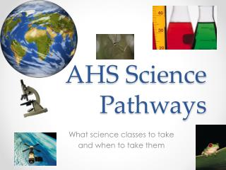 AHS Science Pathways