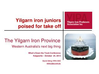 Yilgarn iron juniors poised for take off