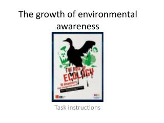 The growth of environmental awareness