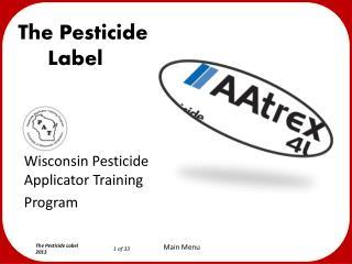 The Pesticide     Label