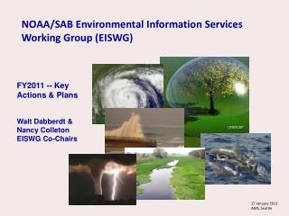 NOAA/SAB Environmental Information Services  Working Group (EISWG)