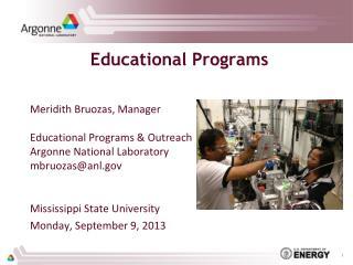 Education al Programs