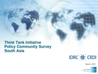 Think Tank Initiative Policy Community Survey  South Asia