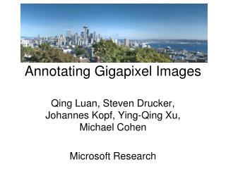 annotating gigapixel images