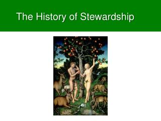 The History of Stewardship