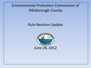 Environmental  Protection Commission of Hillsborough County