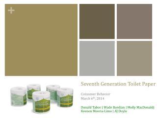 Seventh Generation Toilet Paper
