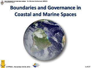 Boundaries and Governance in Coastal and Marine Spaces