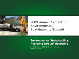 Environmental Sustainability: Recycling Through Rendering