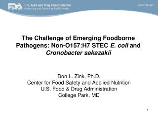 The Challenge of Emerging Foodborne Pathogens: Non-O157:H7 STEC  E. coli  and  Cronobacter sakazakii