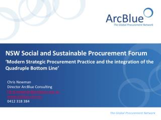 NSW Social and Sustainable Procurement Forum