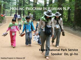 Healing Program In  Kore AN  N.P.