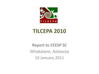 TILCEPA 2010