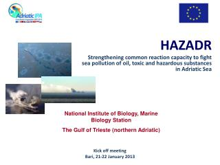 HAZADR Strengthening  common  reaction capacity  to  fight sea pollution  of  oil ,  toxic  and  hazardous substances