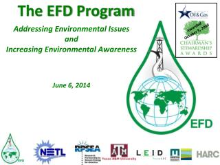 The EFD  Program