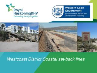 Westcoast  District Coastal set-back lines