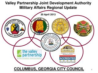Valley Partnership Joint Development Authority Military Affairs  Regional  Update 30  April 2013
