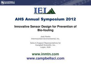 AHS Annual Symposium 2012
