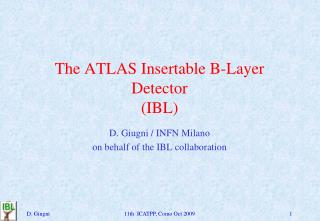 The ATLAS  Insertable  B-Layer Detector  (IBL)