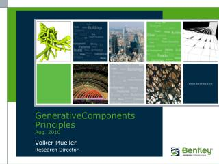 GenerativeComponents Principles Aug. 2010